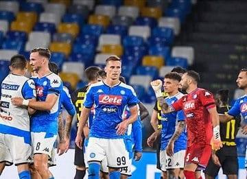 إنجاز مميز لـ ميرتينز بعد صعود نابولي في كأس إيطاليا