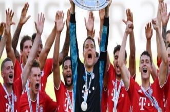 بايرن ميونيخ بطل الدوري الألماني