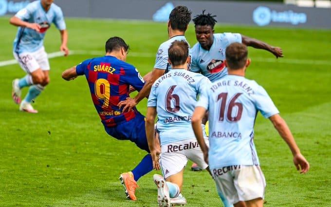 سلتا فيغو ضد برشلونة