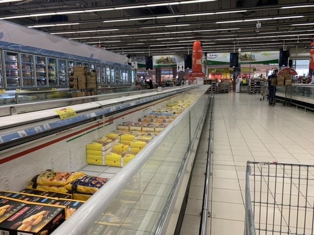 شاهد.. وفرة المخزون الغذائي والمواد التموينية والاستهلاكية في جدة