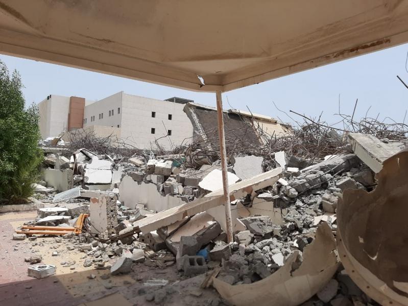"""تأكيدًا لخبر """"المواطن"""".. بدء إزالة مباني مستشفى جازان القديم"""
