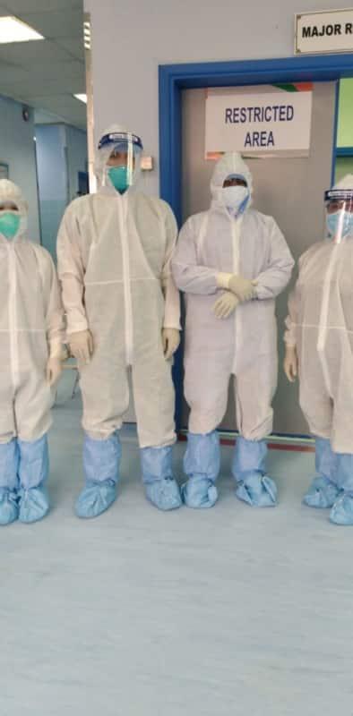 عملية قيصرية ناجحة لسيدة مصابة بـ كورونا بمستشفى ظهران الجنوب - المواطن