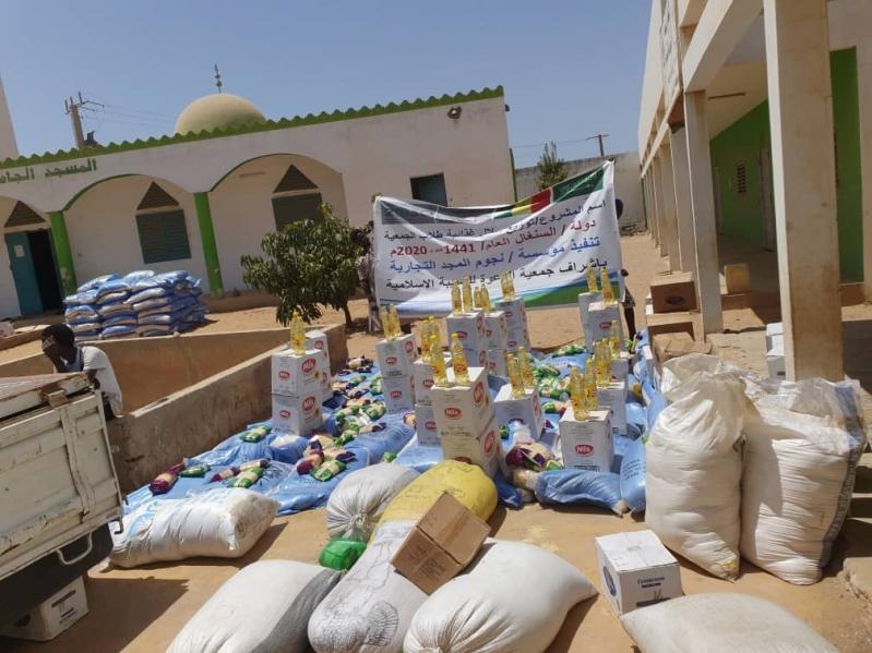 الندوة العالمية توزع السلال الغذائية على الطلاب الجامعيين في السنغال