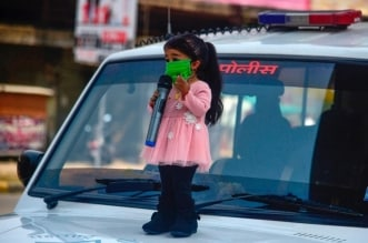 أقصر امرأة في العالم الهندية جيوتي امج