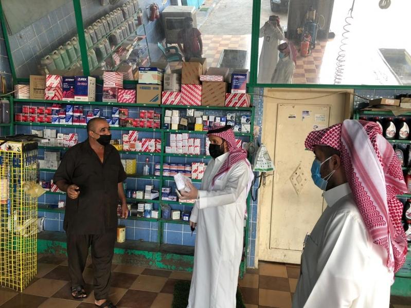عمل الرياض ينفذ 40 زيارة تفتيشية لمتابعة تطبيق الاحترازات