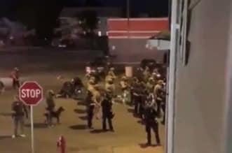 شاهد.. محتج يدهس عدداً من رجال الشرطة في نيويورك - المواطن