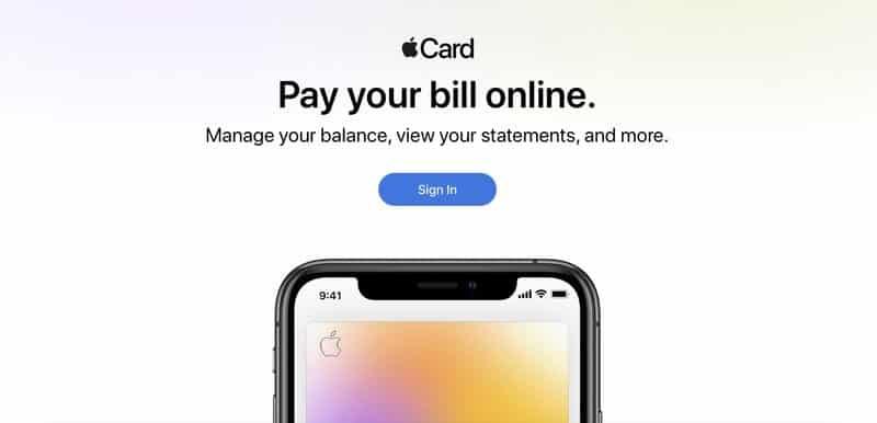 أبل تطلق موقعًا إلكترونيًّا جديدًا لعملاء Apple Card