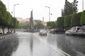 أمطار عسير تواصل الهطول وسط تحذيرات الدفاع المدني