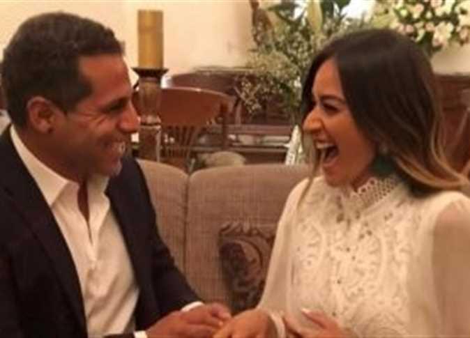 أمينة خليل تحتفل بخطوبتها - المواطن