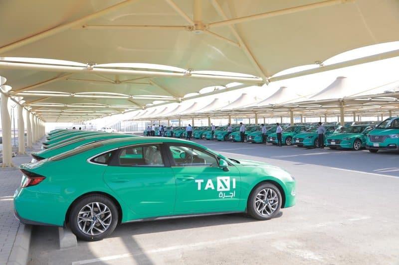 H1 وسوناتا 2020.. التاكسي الأخضر ينطلق بمطار جدة