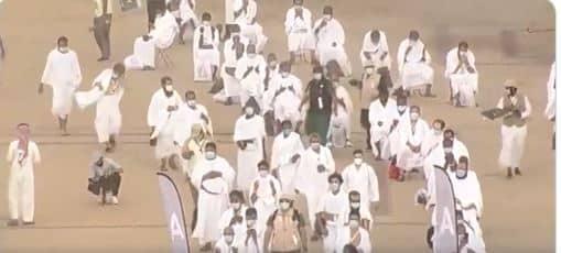 فيديو.. الحجاج على صعيد عرفات لأداء الركن الأعظم