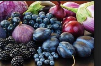 الفواكه الارجوانية