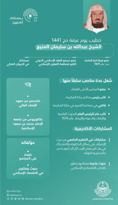 الشيخ عبدالله المنيع خطيبًا ليوم عرفة فماذا تعرف عنه؟ - المواطن
