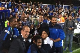 الهلال بطل كأس السوبر السعودي 2015