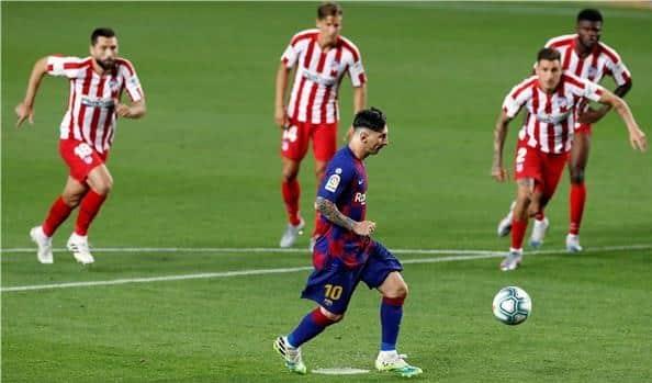 التعادل الإيجابي يحسم مباراة برشلونة ضد أتليتكو مدريد
