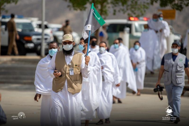 إيجاز صحفي عن الحالة الصحية في الحج يوم عرفه