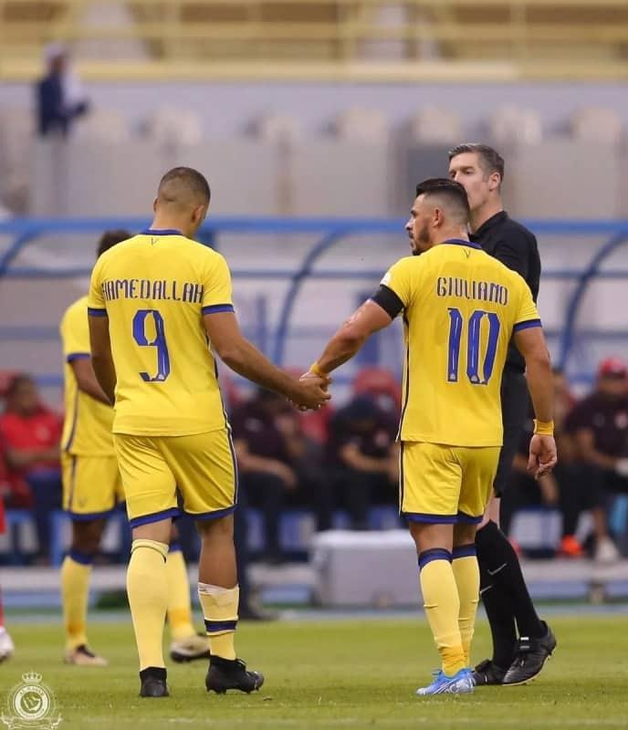جاهزية جوليانو وحمدالله تُطمئن جماهير النصر
