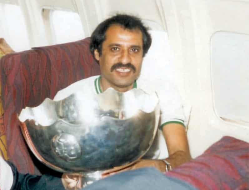 مدرب المنتخب السعودي السابق خليل الزياني