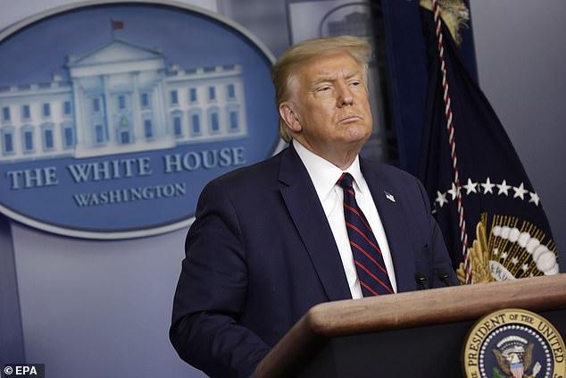 البيت الأبيض يعلن عن كلمة لـ ترامب حول اختراق في علاج كورونا