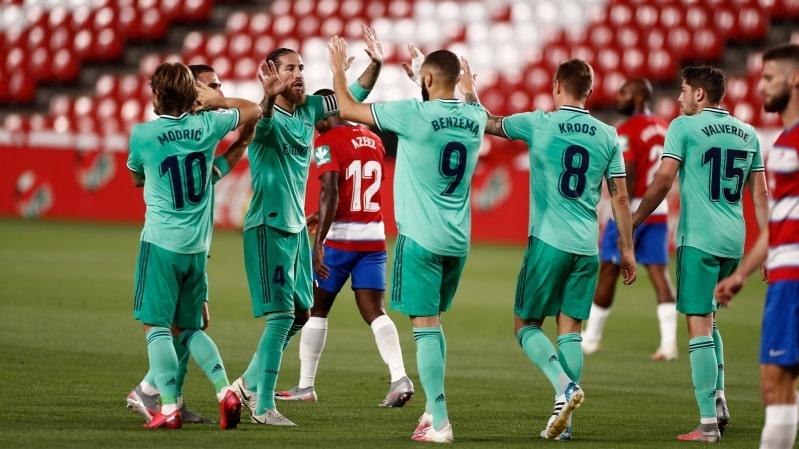 المرينغي يحسم مباراة ريال مدريد ضد غرناطة بثنائية