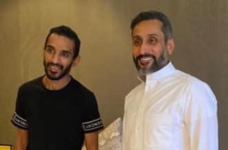 سامي الجابر مع خالد الزيلعي