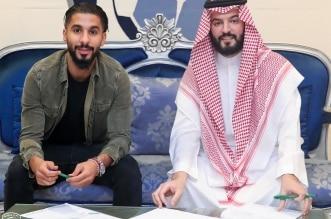 صالح الشهري ورئيس نادي الهلال