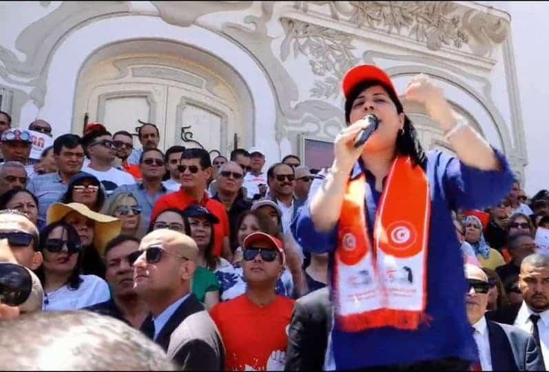عبير موسى: أمن تونس في خطر بسبب أجندات تنظيم الإخوان