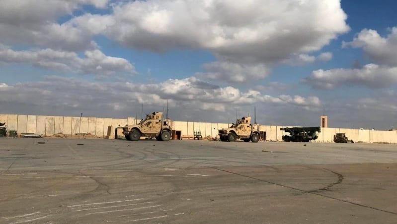 3 صواريخ تستهدف الجانب الأمريكي في قاعدة التاجي بالعراق