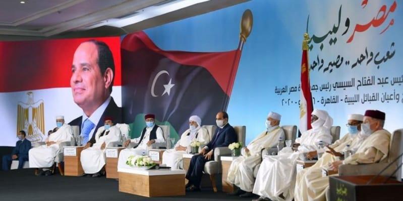 السيسي: مصر مستعدة لتدريب أبناء القبائل الليبية لبناء جيش وطني موحد