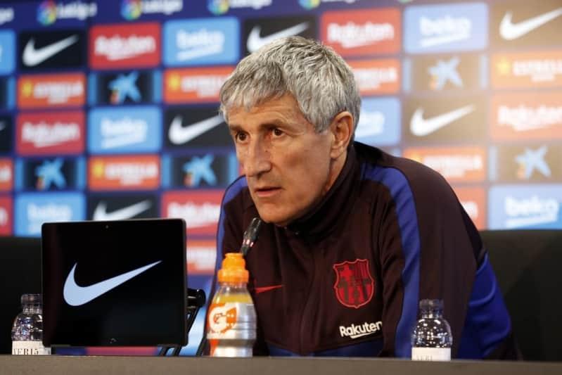برشلونة يعلن إقالة سيتين رسميًّا
