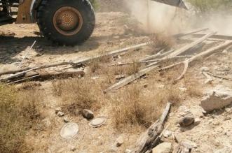 صور.. استعادة 10 آلاف متر من أراضي الدولة بمركز الشعف - المواطن