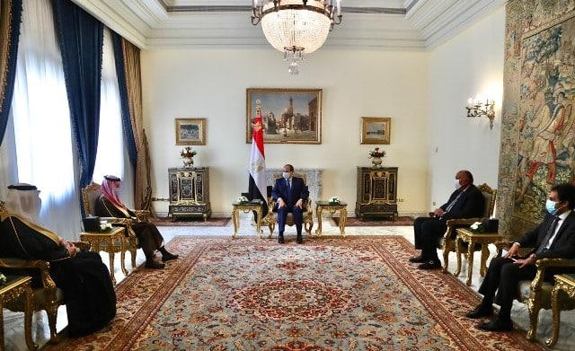 السيسي يبحث مع وزير الخارجية العلاقات الثنائية ومستجدات الأحداث