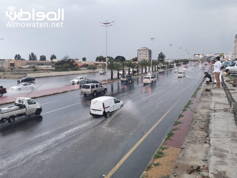 أمطار رعدية ورياح على 7 مناطق اليوم