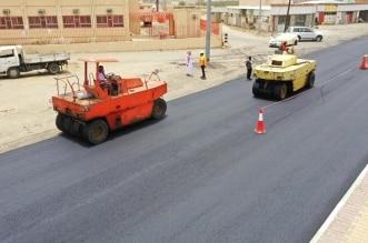 بلدية بارق تواصل أعمال سفلتة طريق الملك عبدالله بطول ٢.٧ كم - المواطن