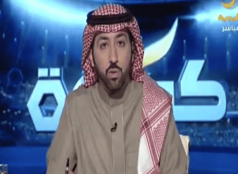 نصيحة الإعلامي الرياضي خالد الشنيف بعد إصابته بفيروس كورونا
