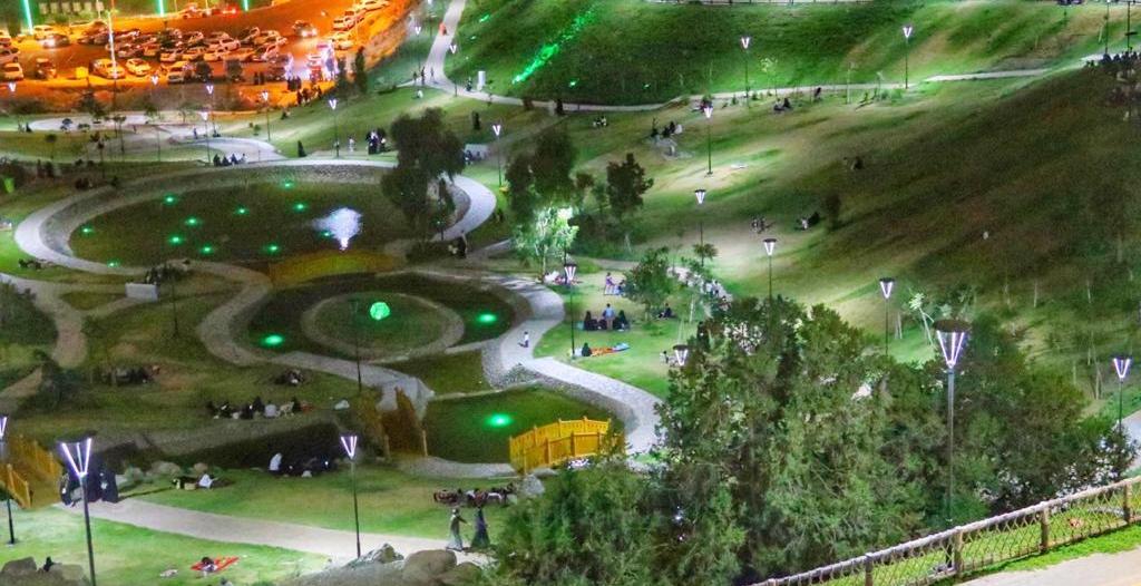 زراعة 765 ألف زهرة وشجرة وتجهيز الحدائق والمتنزهات لـ صيف الباحة