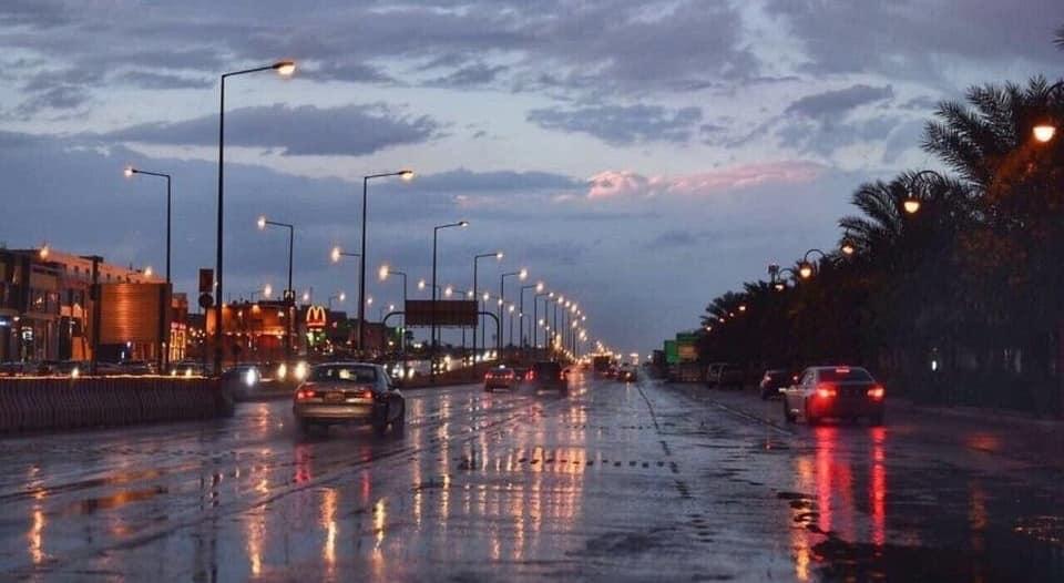الأرصاد تتوقع هطول أمطار رعدية ورياحاً نشطة على معظم المناطق