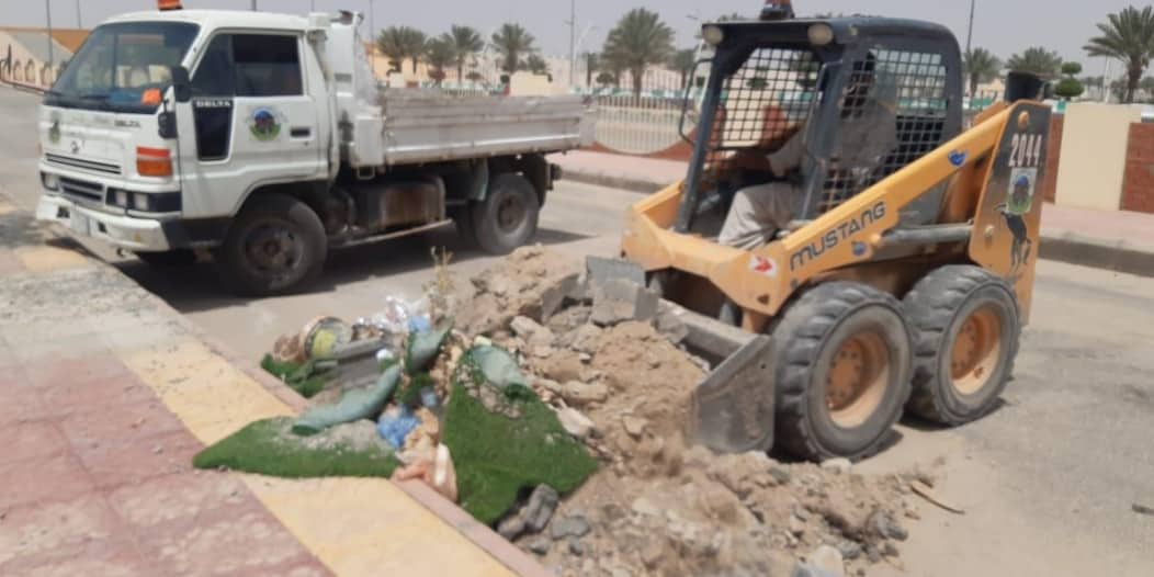 رفع 92 ألف طن من النفايات خلال أسبوع في عسير