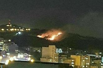 حريق بحي يقطنه كبار قادة الحرس الثوري الإيراني - المواطن