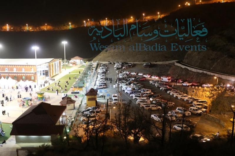 أكثر من 9 آلاف زائر لـ وسام البادية في المندق