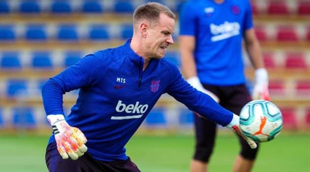 برشلونة يحمي تير شتيجن من اهتمام تشيلسي بعقد جديد