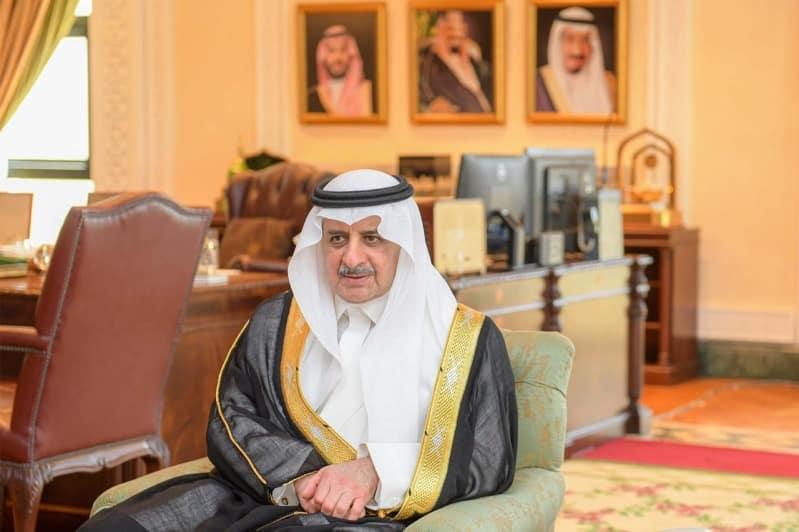 أمير تبوك مهنئًا الملك سلمان : فرحة غامرة وسعادة وسرور بنجاح العملية الجراحية