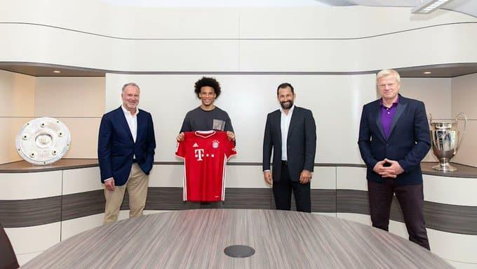 رسميًا .. بايرن ميونيخ يضم ساني حتى 2025 - المواطن