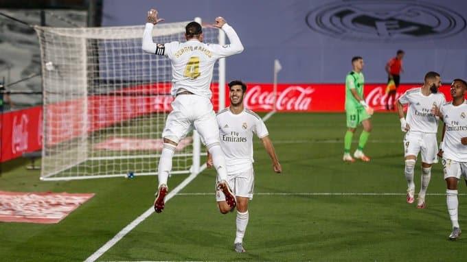 ترتيب الدوري الإسباني بعد فوز الريال ضد خيتافي