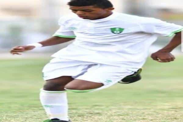 هيثم عسيري لاعب الأهلي الشاب