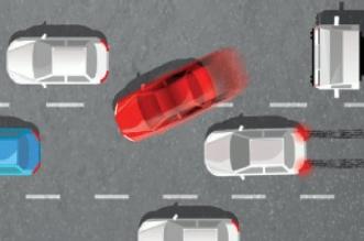 تحذير من المراوغة بين السيارات.. 6 آلاف ريال غرامة - المواطن