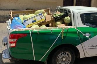 مصادرة 329 كجم خضروات وفواكه وتسليم 189 لجمعية حفظ الطعام بمكة المكرمة - المواطن