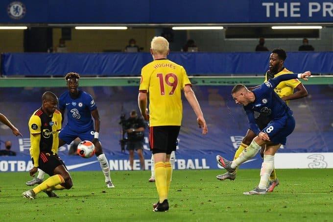 البلوز يُنهي مباراة تشيلسي ضد واتفورد بثلاثية