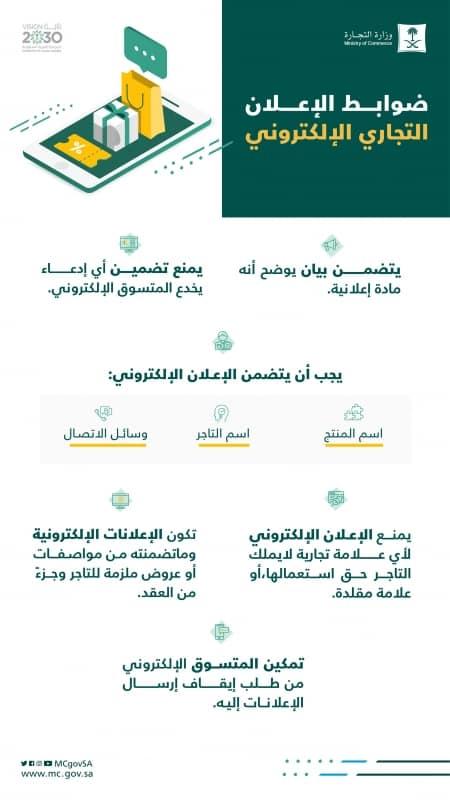 6 ضوابط لـ الإعلان التجاري الإلكتروني - المواطن