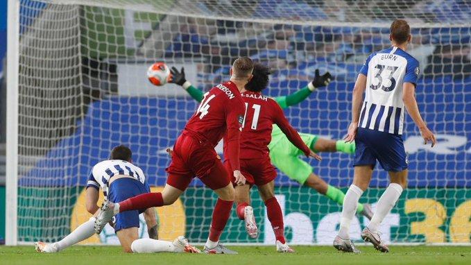 الريدز يُحقق فوزًا ثمينًا بـ مباراة برايتون ضد ليفربول
